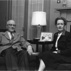 J. Harold Lampe and his wife, Rose Lampe