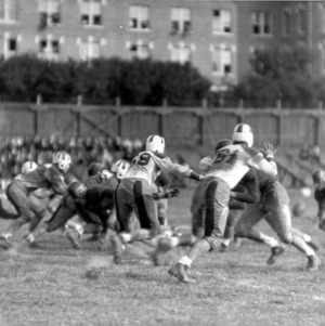 Football game, N. C. State versus Appalachian