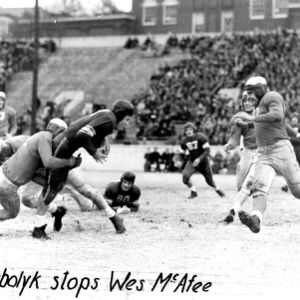 Football game, N. C. State versus Duke