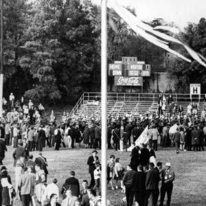 Football game, N. C. State versus UNC