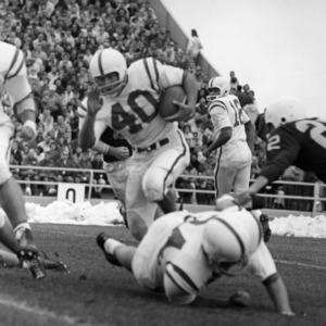 Football game, N. C. State versus Wyoming