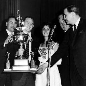 Liberty Bowl trophy