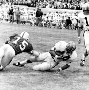 Football game, N. C. State versus Clemson