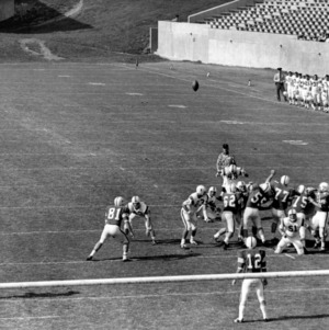 Football game, N. C. State versus Furman