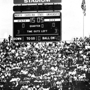 Carter-Finley Stadium, N. C. State versus ECU