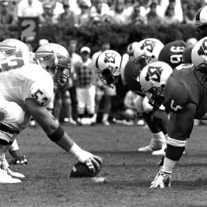 Football game, N. C. State versus Flordia State