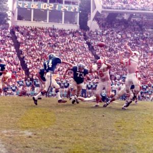 Football game, N. C. State versus UNC