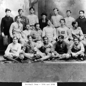 N. C. State football team, 1894-1895