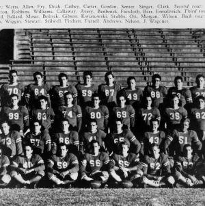 N. C. State football team, 1941