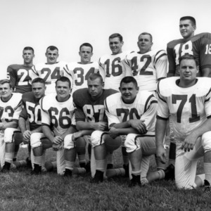 North Carolina natives on the 1960 football team