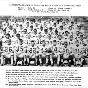 1967 undefeated North Carolina State freshman football team