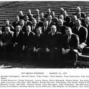 N. C. State football squad (1957) Reunion