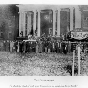 Celebrating South Atlantic Championship, 1911