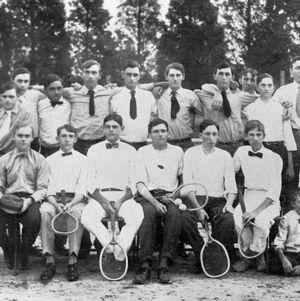 Tennis Club group portrait, 1920s