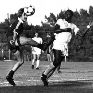Soccer game Virginia Tech versus N. C. State