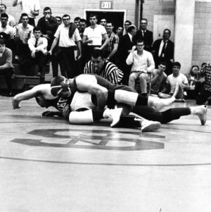 N. C. State wrestling match