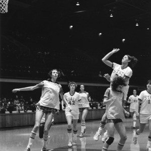 N.C. State's #22 Donna Andrews takes the shot