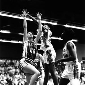 North Carolina State women's basketball game vs. University of Virginia