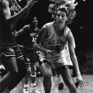 North Carolina State University women's basketball game vs. University of Maryland