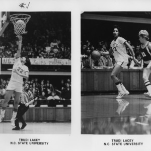 N.C. State's #22 Trudi Lacey, promotional photographs