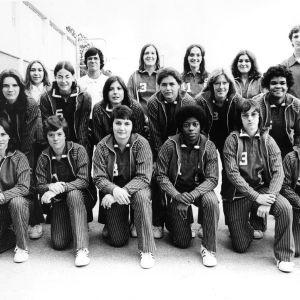 1974-1975 N.C. State University women's basketball team