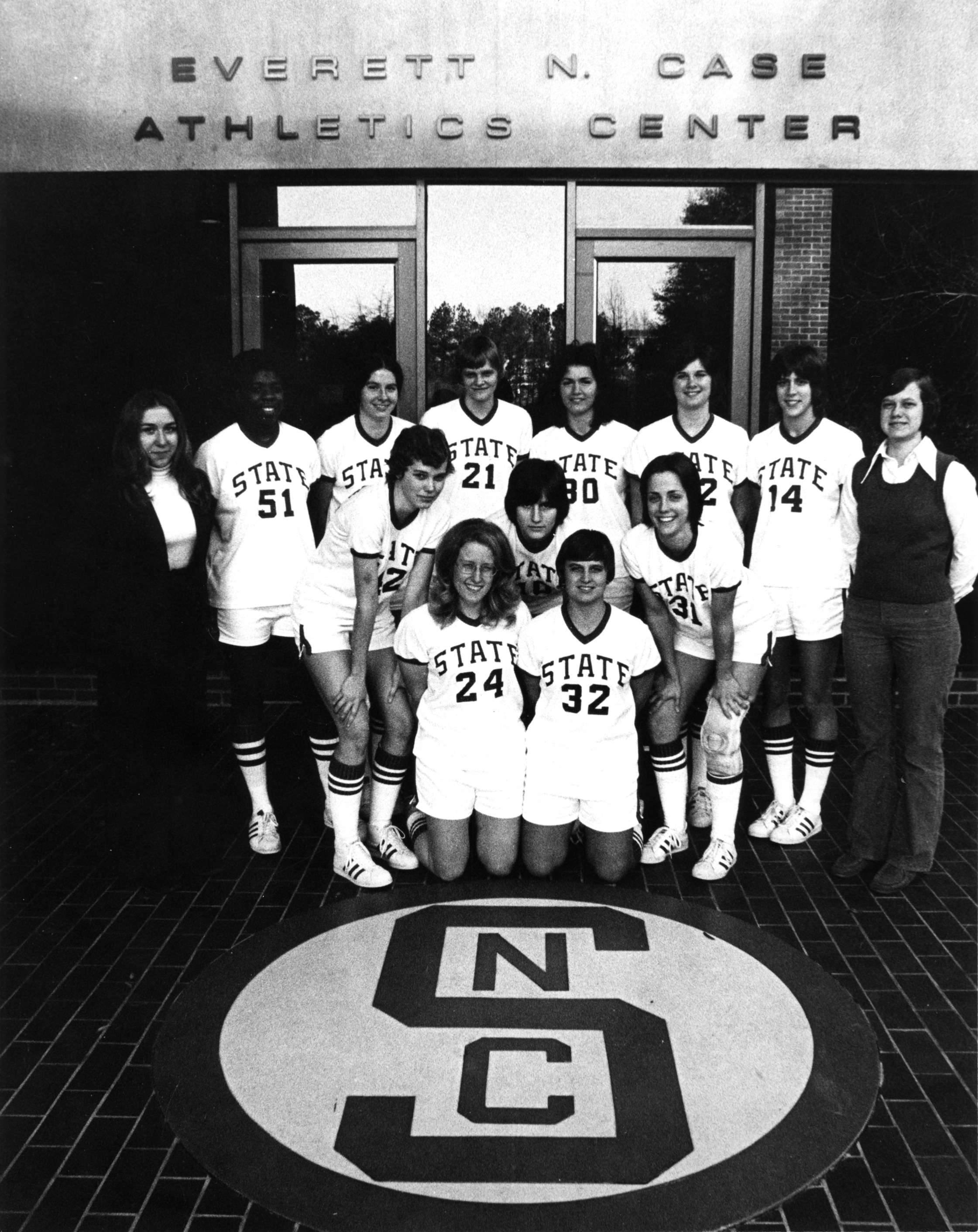 1975-1976 N.C. State University women's basketball team