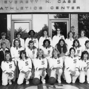 1977-1978 N.C. State University women's basketball squad