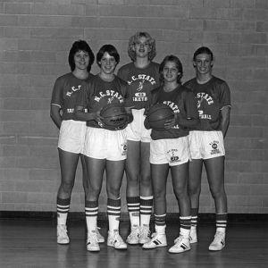 N.C. State women's basketball team portrait