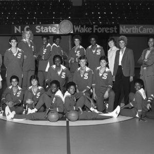 1983-1984 Wolfpack women's basketball team