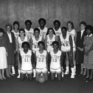 1984-1985 N.C. State University women's basketball team