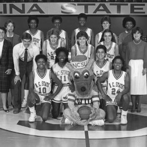 1985-1986 N.C. State University women's basketball team