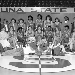 1987-1988 N.C. State University women's basketball team