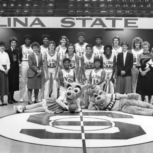 1986-1987 N.C. State University women's basketball team