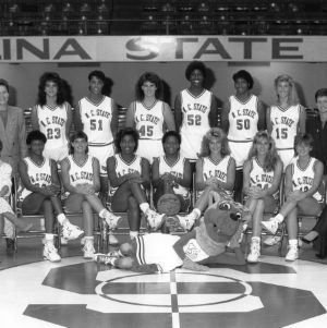1988-1989 N.C. State University women's basketball team