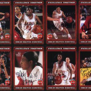 1998-1999 N.C. State University women's basketball
