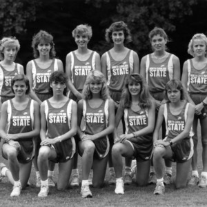 N. C. State Women's cross country team, 1987