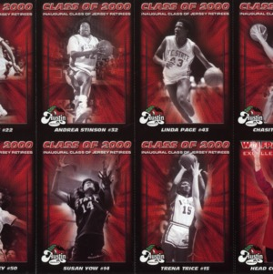 Class of 2000 N.C. State University women's basketball (inaugural class of jersey retirees sports cards)
