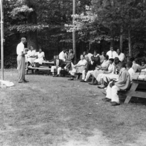 4-H club members attending a conference