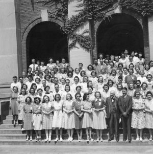 4-H club members attending an Older Youth Conference, June 4-8, 1940