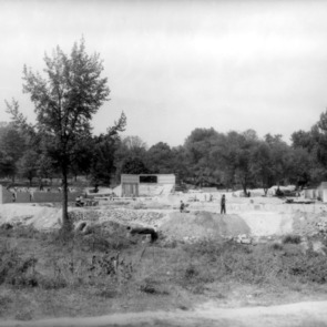 Construction at Pullen Park