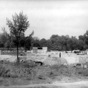 Construction at Pullen Park