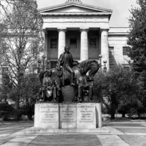 Statue of Presidents from North Carolina