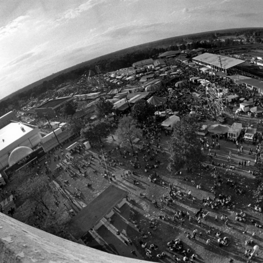 Aeriel View of the North Carolina State Fair