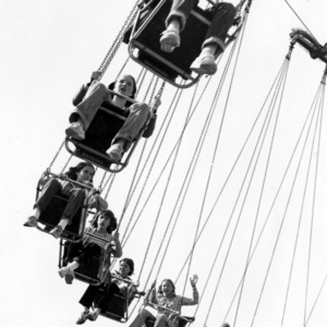 Swings at the North Carolina State Fair
