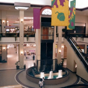 Interior of Crabtree Valley Mall