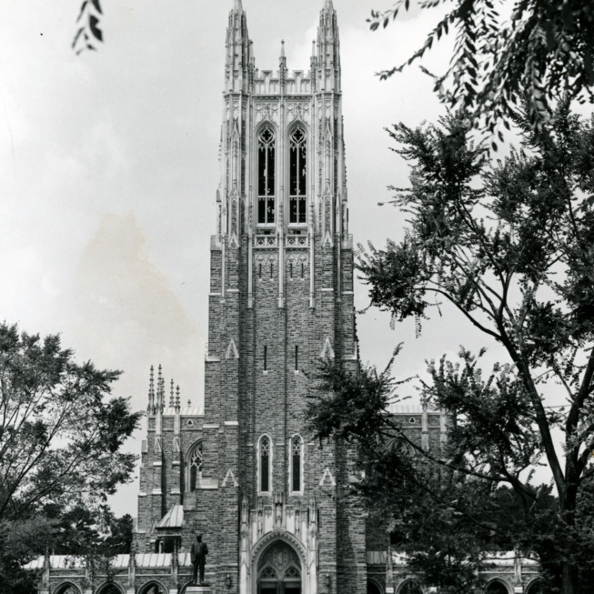 Duke Chapel on the campus of Duke University