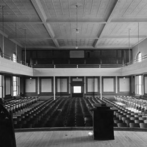 Auditorium, Pullen Hall