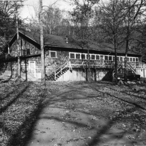 Exterior of building at Swannanoa 4-H Camp