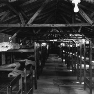 Interior of dormitory at Swannanoa 4-H Camp