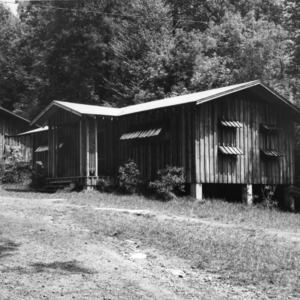 Exterior of cabin at Swannanoa 4-H Camp